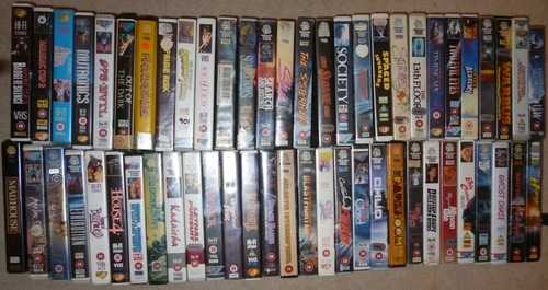 My Vhs Collection On Pause Vivavhs