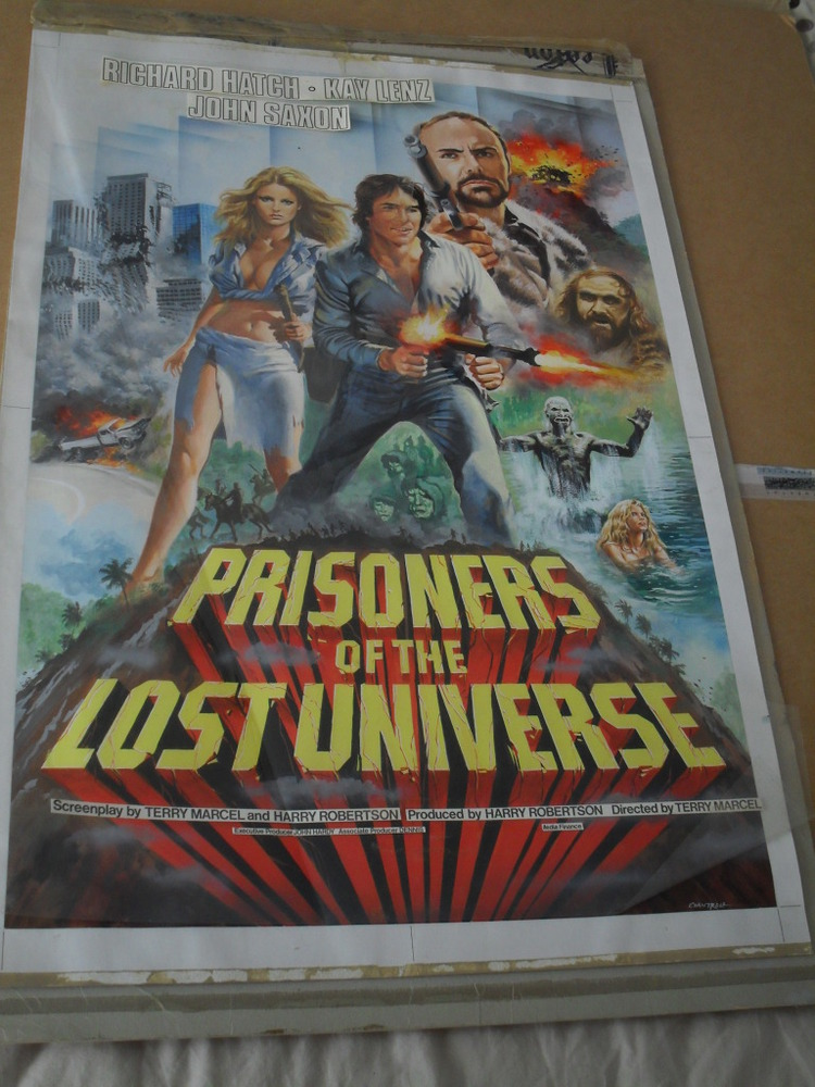Prisoners of the Lost Universe - Original Artwork