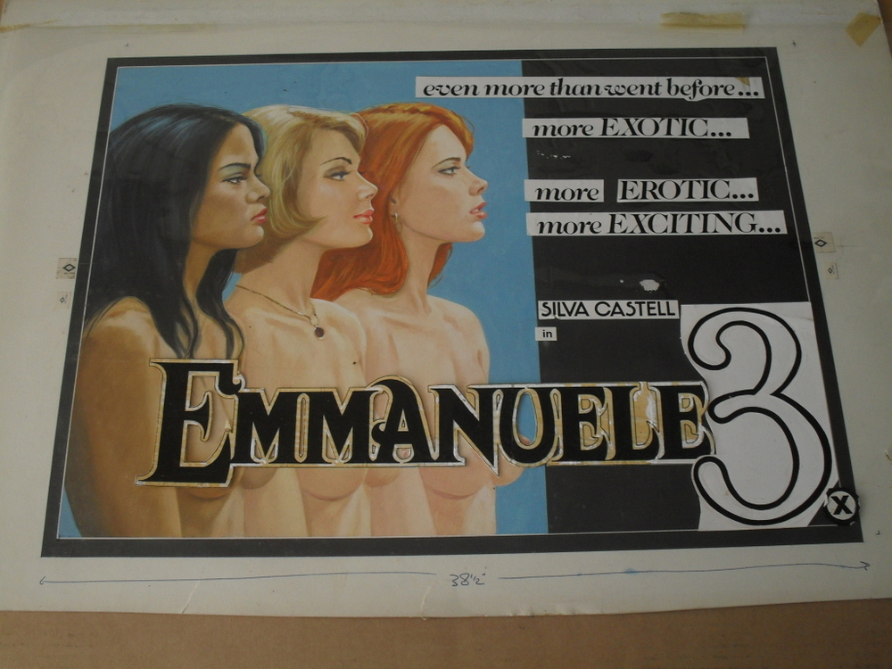 Emmanuelle 3 - Original Artwork