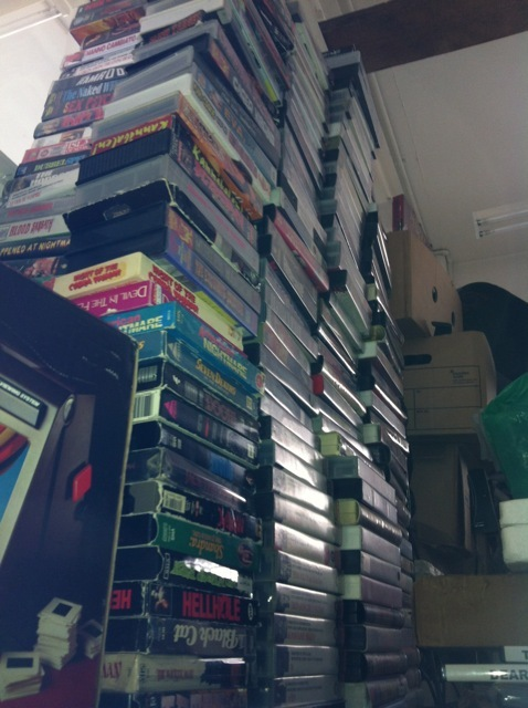 The Great VHS Expenditure of 2012