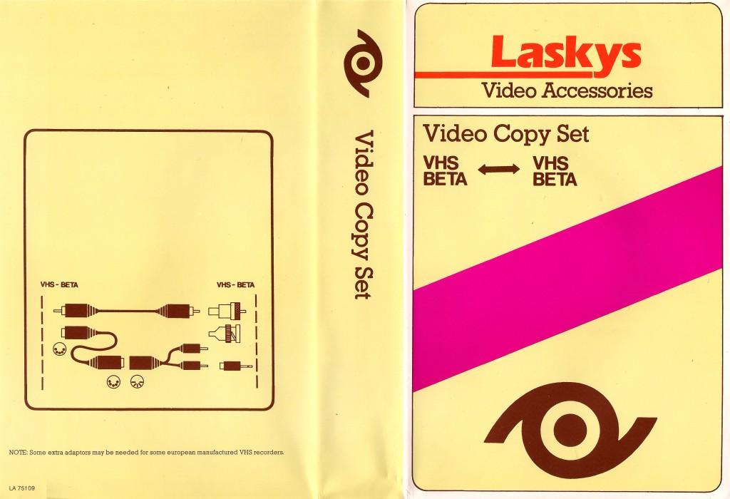 Laskys Video Copy Kit