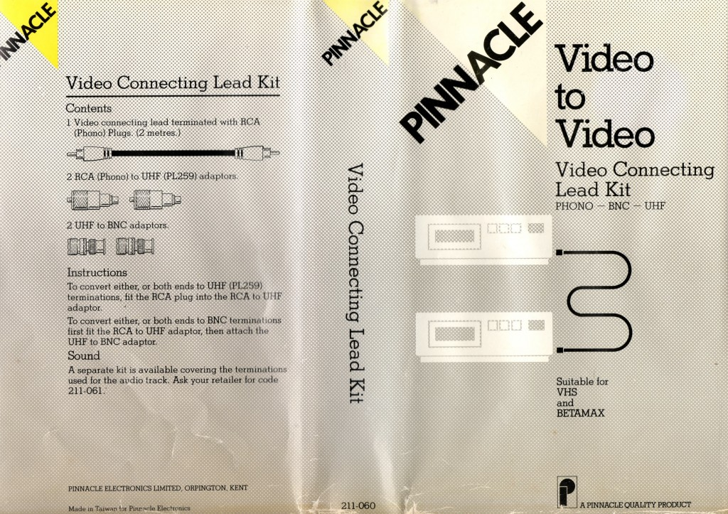 Pinnacle Video Copy Kit