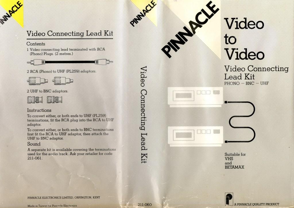 Pinnacle Video Copy Kit