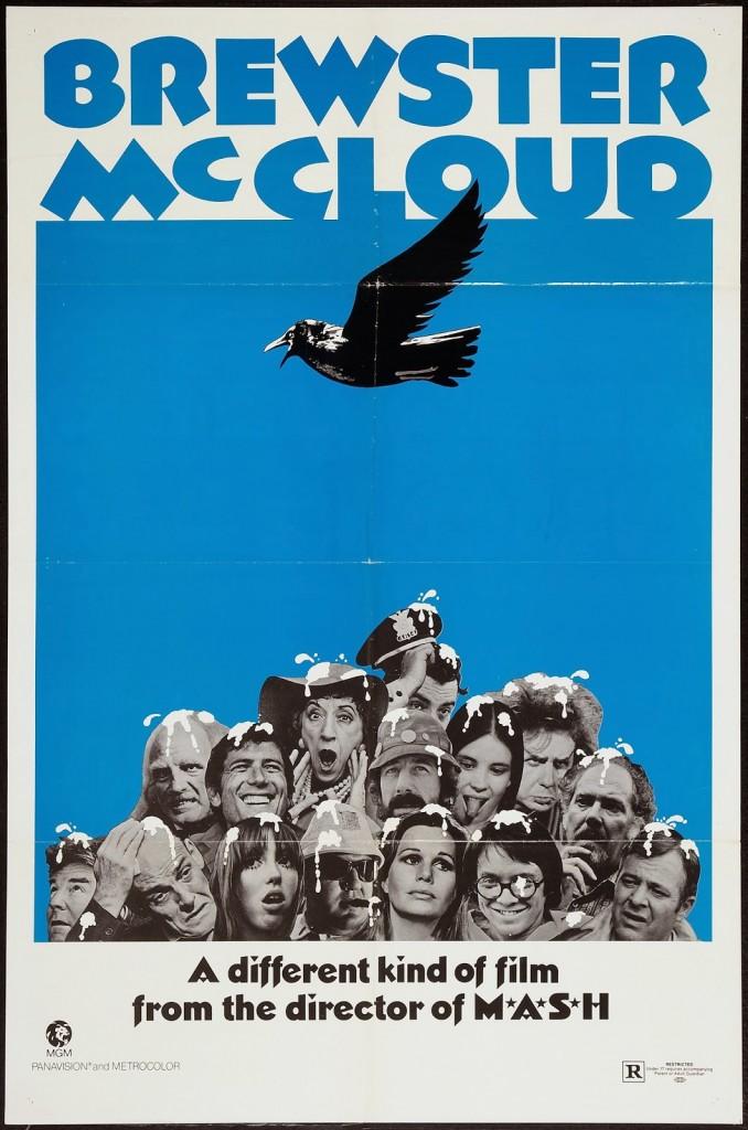 BREWSTER MCCLOUD - American Poster 2